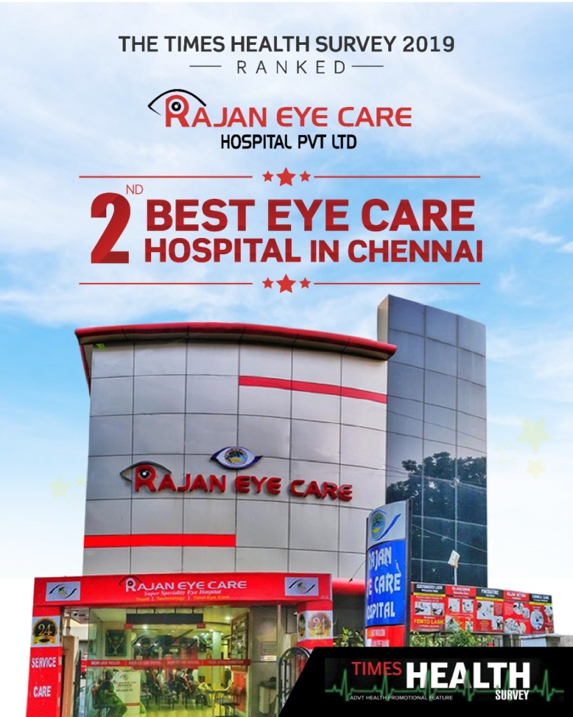 2nd best eye care hospital in Chennai